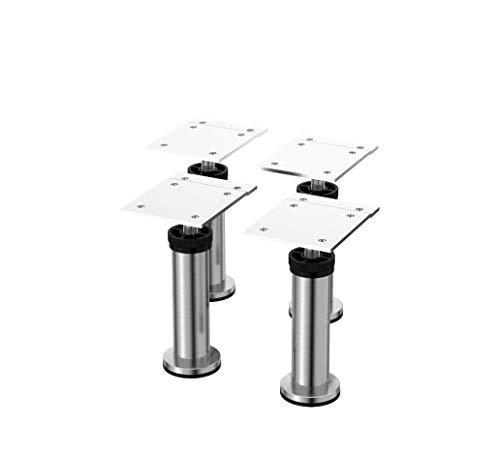 IKEA - CAPITA Leg, Stainless Steel 4 3/8-4 3/4' (X4)