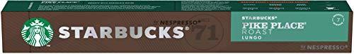 Café em Cápsula, Starbucks, Nespresso, Pike Place Roast, Lungo, 10 Cápsulas