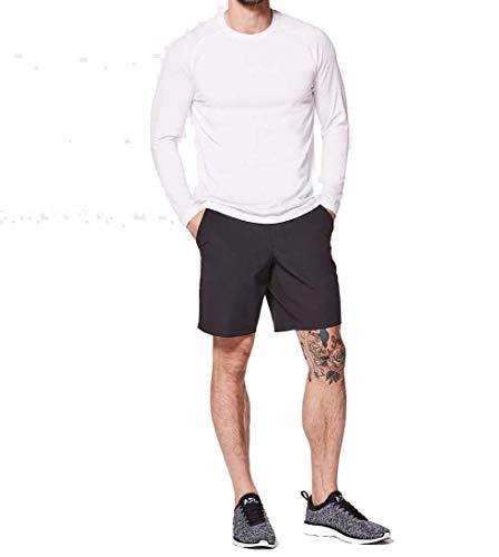 Lululemon Mens Metal Vent Tech Long Sleeve Shirt(White, XL)
