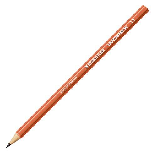 Staedtler–Wopex–Pack 12Bleistifte–2B