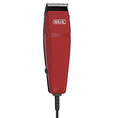 Máquina Para Cortar Cabelos Wahl Easy Cut Vermelha Com Fio, Wahl, Máquina de Corte Easy Cut Vermelha Wahl 9314-2755, Vermelha