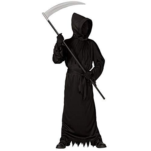 Widmann WDM07448 - Costume Black Ghoul, Nero, 11-13 anni (Altezza 158 cm)