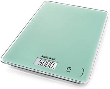 Soehnle 61513 Digitale K chenwaage Digital Kitchen Scales Glass Mint product image