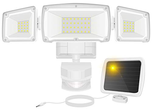 Solar Security Lights Outdoor, FURANDE 1500LM...