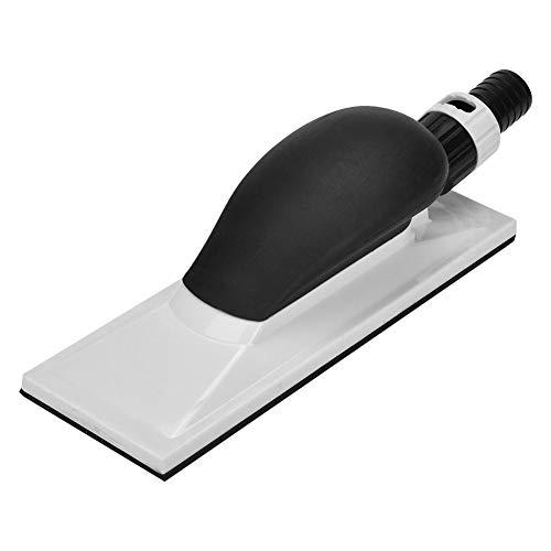 Bloque de lijado manual Ladieshow 200x70mm Extracción de polvo Lijado Bloque de esponja Lijadora manual sin polvo con mango
