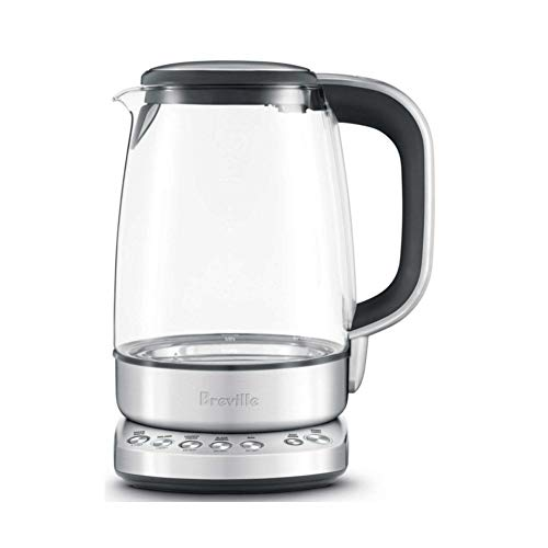 Breville BKE830XL The IQ Kettle Pure, Brushed Stainless Steel, 8.7 x 7.2 x 10.5 inches