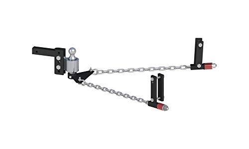 Andersen Hitches No-Sway Weight Distribution Hitch 4in Drop/Rise, 2in Ball, Universal Frame Brackets