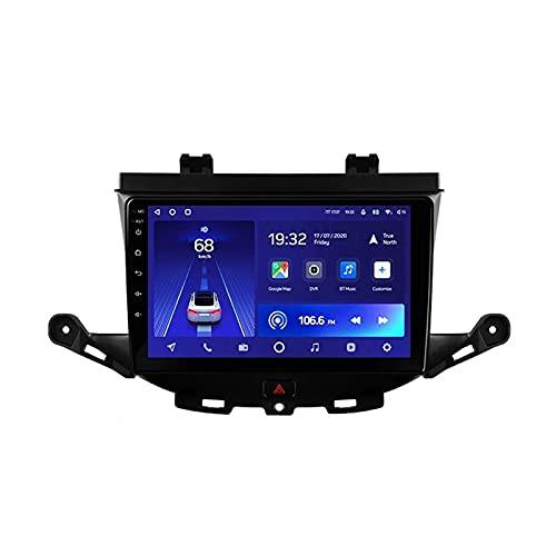 Lettore MP5 multimediale per autoradio, con supporto per telecamera posteriore Wifi/Bluetooth/Navigazione GPS/Collegamento specchio/Controllo del volante/USB/Video 1080P, per Opel Astra K