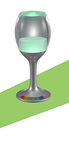 Lampes de Bureau Lampe de Table Veilleuse LED coloré dégradé Glass Table Lamp KTV Bar Ambiance de veilleuse de Chambre, c