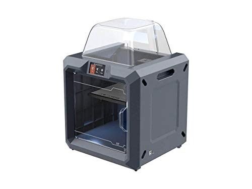Monoprice MP300 3D Printer Guider II - Black with Large Heated Build Plate (280 x 250 x 300 mm) Fully Enclosed, Touch Screen, Assisted Leveling, Easy Wi-Fi, 8GB Internal Memory
