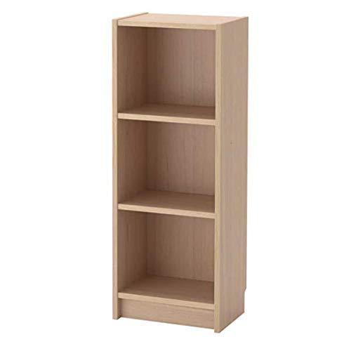 BILLY IKEA Bücherregal Eichenfurnier weiß lasiert; (40x28x106cm)