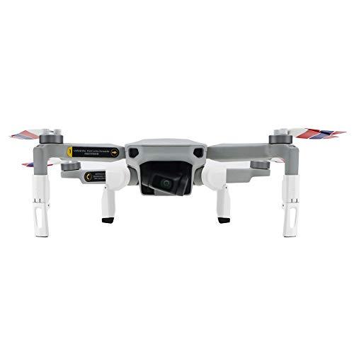 DJFEI Carrello di Atterraggio Esteso Proteggi Gambe Estensione per DJI Mavic Mini 2, Leg Extenders per DJI Mavic Mini 2 Drone, Accessori Drone di Protezione Sottoscocca e Stabilizzatore