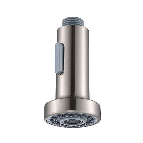 Homelody Ersatz Küche Brausekopf 3 Funktionen mit Stopptaste Geschirrbrause Spüle Wasserhahn Küche Küchenbrause
