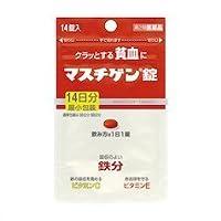 【第2類医薬品】マスチゲン錠 14錠 ×3