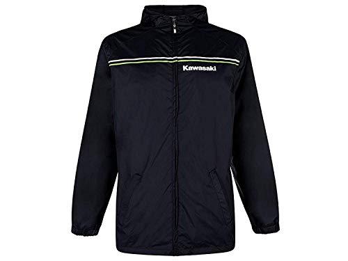 Kawasaki Sports Regenjacke schwarz Size 2XL