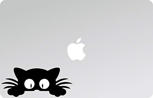 Aufkleber – Aufkleber – PC – Helme – Auto – Motorrad – Möbel – Katzen – Micio, Decal Laptop, Aufkleber für Laptop, MacBook Decals, Laptop-Sticker, Mac, Abziehbilder, Katze, Katze 01 Gatto 09