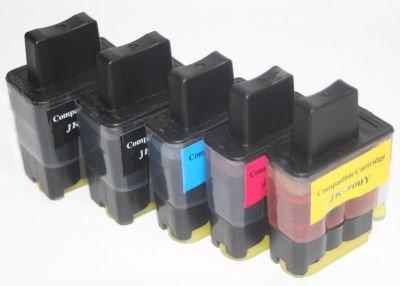 10 Druckerpatronen kompatibel für Brother DCP 110C DCP 115C DCP 120C MFC 210C MFC 215C ersetzen LC-900