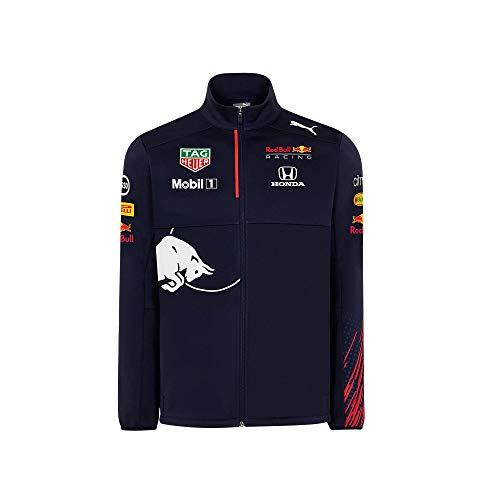 Red Bull Racing Official Teamline Chaqueta Softshell, Niños Tamano 164 - Original Merchandise