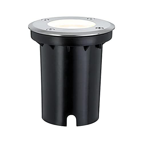 Paulmann 93992 Outdoor Special LED Bodeneinbauleuchte Set IP67 Rund GU10 Warmweiß 3,5W Einbaustrahler Terassenbeleuchtung Bodeneinbaustrahler