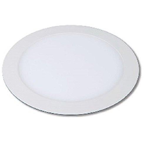 LYO downlight lED encastrable rond extra-plat intégré, 12 W, blanc, 17 x 15.7 cm