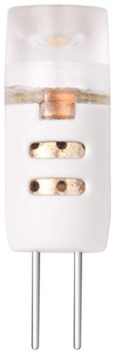 XQ-lite XQ1388 G4 LED Leuchtmittel (1,2 Watt ersetzt 7 Watt), 70 Lumen, 110 Grad Abstrahlwinkel, warm weiß