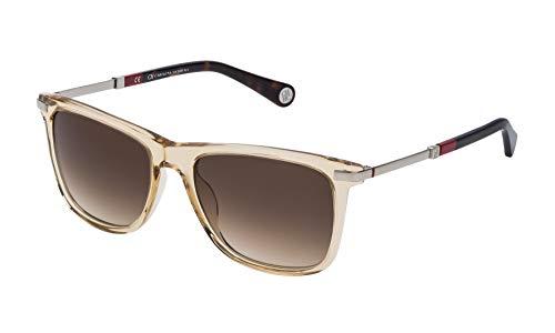 Carolina Herrera SHE684540760 Gafas de sol, Marrón, 54 para Mujer