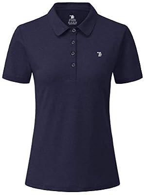 YSENTO Damen Golf Poloshirt