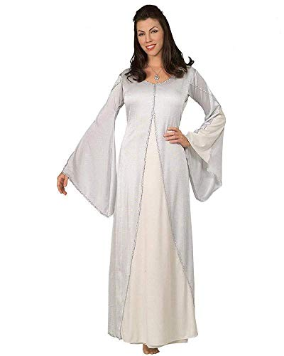 Rubies The Lord of The Rings Arwen Costume Standard Size 10-12 White
