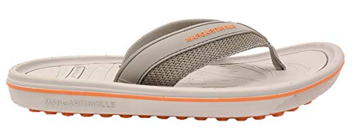 Margaritaville Golf- Foot Wedge Flip Flops Sand Size 11 Medium Beige/Orange