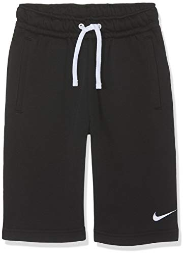 Nike Kinder Y FLC TM CLUB19 Shorts, Black/White, L