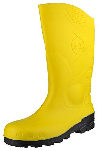 Dunlop Protective Footwear Devon full safety Unisex-Erwachsene Gummistiefel, Gelb 36 EU
