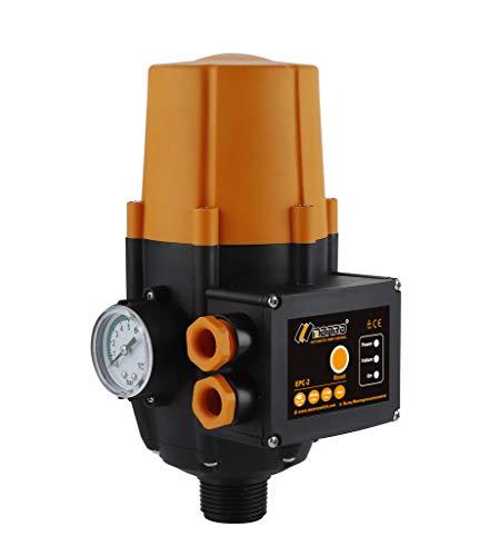 TRUSTTO EPC-2 Druckwächter Druckschalter Pumpensteuerung Hauswasserwerk Gartenbewässerung 10bar(Max) Automatischer Wasserpumpen-Druckregler elektronischer Druckregler