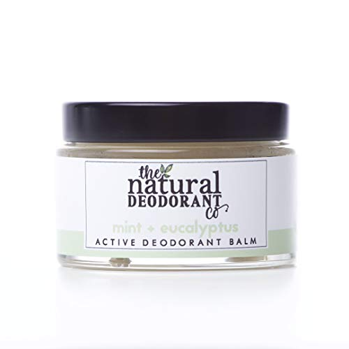 Active Deodorant Balm Mint + Eucalyptus (55g) - The Natural Deodorant Co. - Certified cruelty-free and vegan