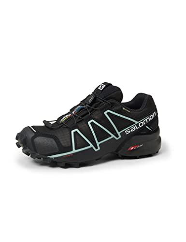 Salomon Speedcross 4 Gore-Tex (wasserdicht) Damen Trailrunning-Schuhe, Schwarz...