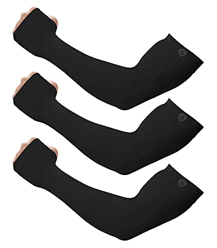 Arm Sleeves for Men & Women SHINYMOD UV Sun Protection Compression Warmer Cover