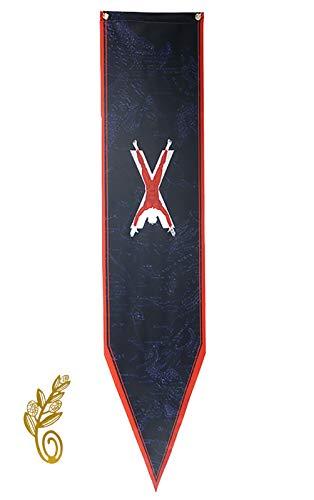 DSSPARTY Bandera de jardín para Regalo de cumpleaños, [30CM X 146CM], Maravillosa Pancarta para la Fiesta de Juego de Tronos