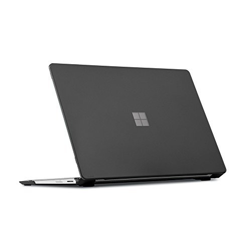 mCover Hard Shell Case for 13.5-inch Microsoft Surface Laptop 2/3 Computer (Black) (** Not for Metal Keyboard Version of Surface Laptop 3 **)