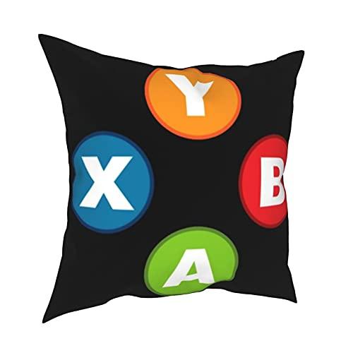Fundas de almohada decorativas para controlador de videojuegos, fundas de almohada personalizadas, fundas de cojín para sofá, dormitorio, coche, accesorios para el hogar de 50 x 50 cm