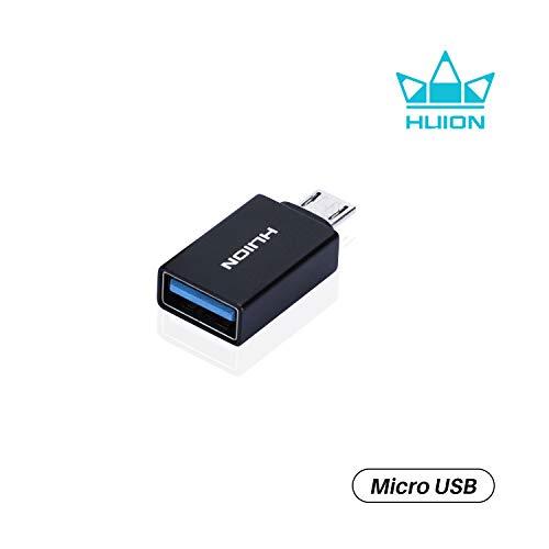 HUION OTG-Micro USB-adapter compatibel met HUION grafische tablet