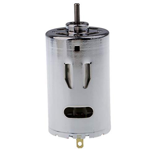 DJY-JY 555 doble cojinete de bolas del motor 12v 24v 6000-12000rpm motor grande de pares