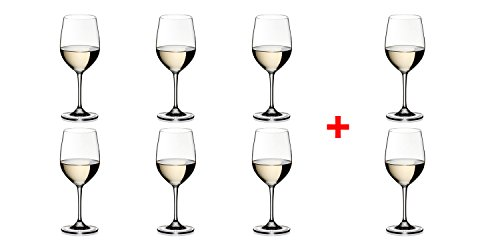 Riedel VINUM Chablis/Chardonnay Glasses, Pay for 6 get 8 - 7416/05