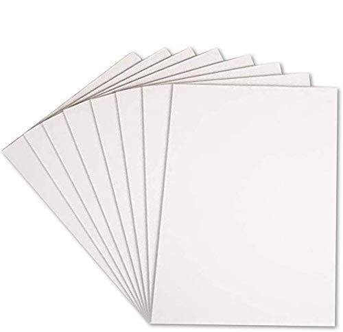 16 x A3 Schaumstofftafeln, weiß, 5 mm, Polystyrol, säurefrei, doppelseitig, starr, leicht, für Handwerk, Rahmen, Kunst, Präsentationen und Schulprojekte