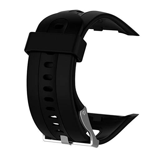 LXF JIAJU Correa De Pulsera De Silicona Sports Reemplazo De La Muñeca para Garmin Forerunner 10 15 Reloj Gear SPOR with Tool Watch Strap (Color : 1, Size : S)