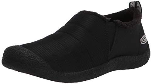 KEEN womens Howser 2 Casual Water Resistant Slide Hiking Shoe, Black/Black/Black, 10 US