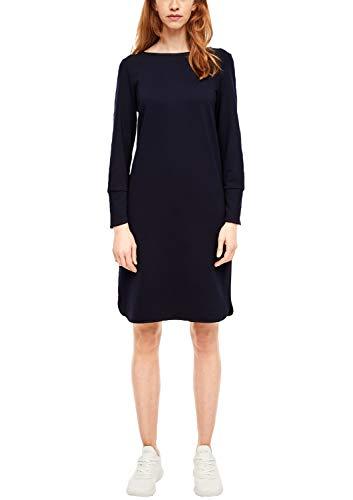 s.Oliver RED Label Damen Kleid mit Stickerei Navy 42