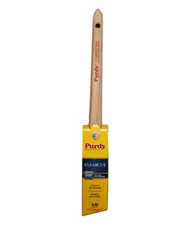 Purdy 144080110 Clearcut Series Dale Angular Trim Paint Brush, 1-inch