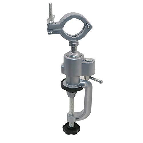 QWERTOUR Mini Perforadora giratoria Herramientas Tabla Vice Titular Mini Vice Vise aleación de Aluminio Banco del Vector de la Abrazadera de Herramientas del Taladro