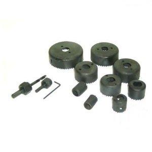 11-delige Gatenzaagset 19 mm 22 mm 25 mm 32 mm 38 mm 44 mm 51 mm 64 mm gatenzaag boor 6 mm