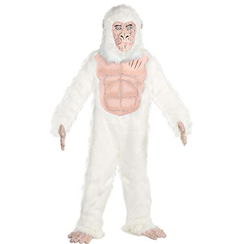 Costumes USA Rampage George Costume for Boys, Standard Size, Includes a Jumpsuit, a Mask, Gloves, and Shoe Covers