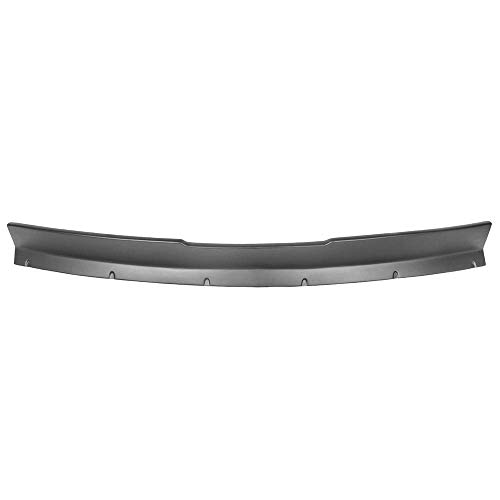 Trunk Spoiler Wing Compatible With 2010-2013 Chevrolet Camaro, Ikon Style Black PP Added On Rear Trunk Spoiler Lip Wing by IKON MOTORSPORTS, 2011 2012